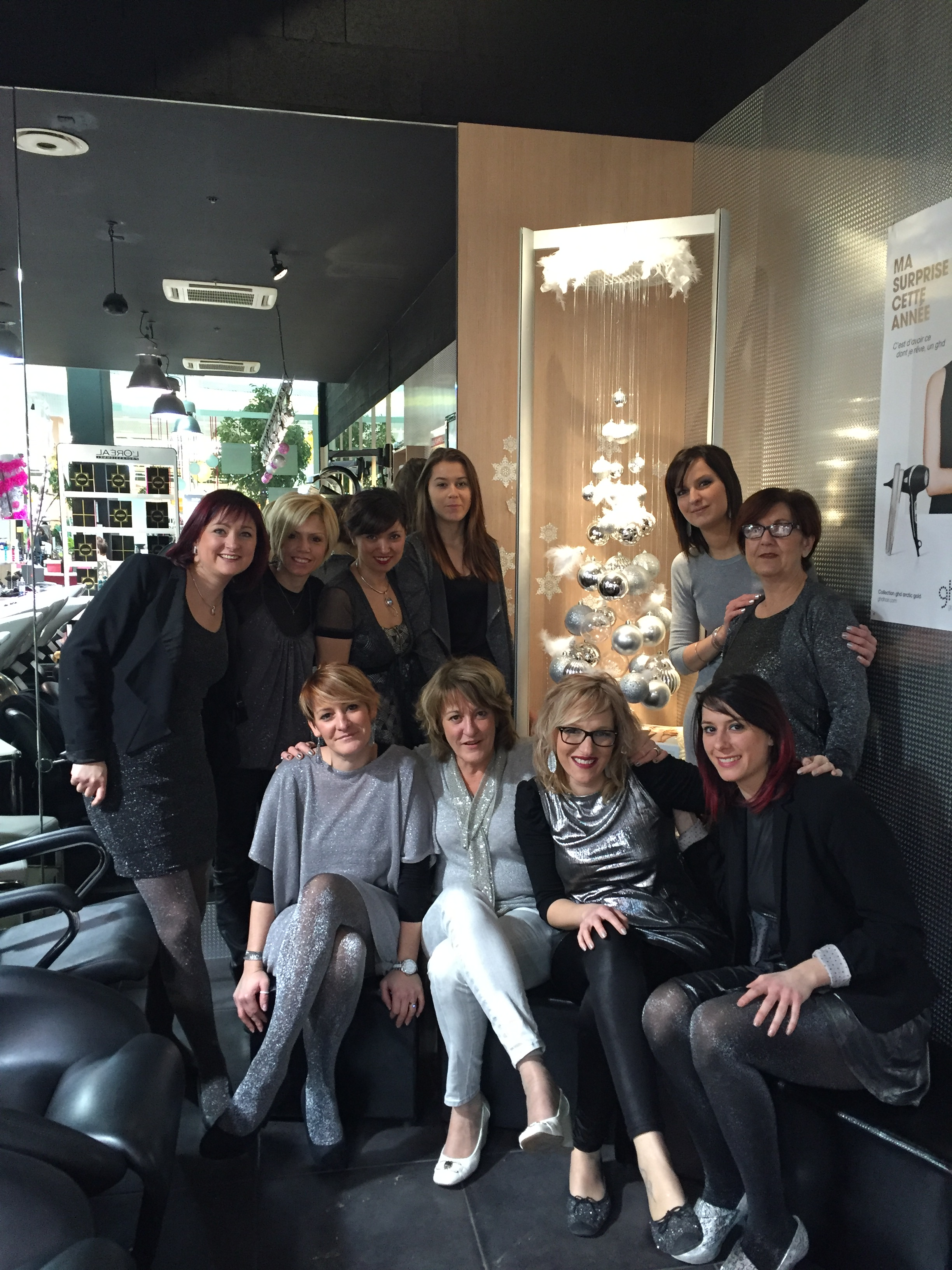 Champfleury noel 2015 coiffeur visagiste reims salon for Salon reims