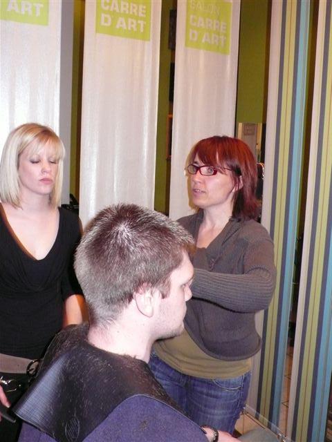 Trainings homme coiffeur visagiste reims salon carr d 39 art for Salon o coiffure reims