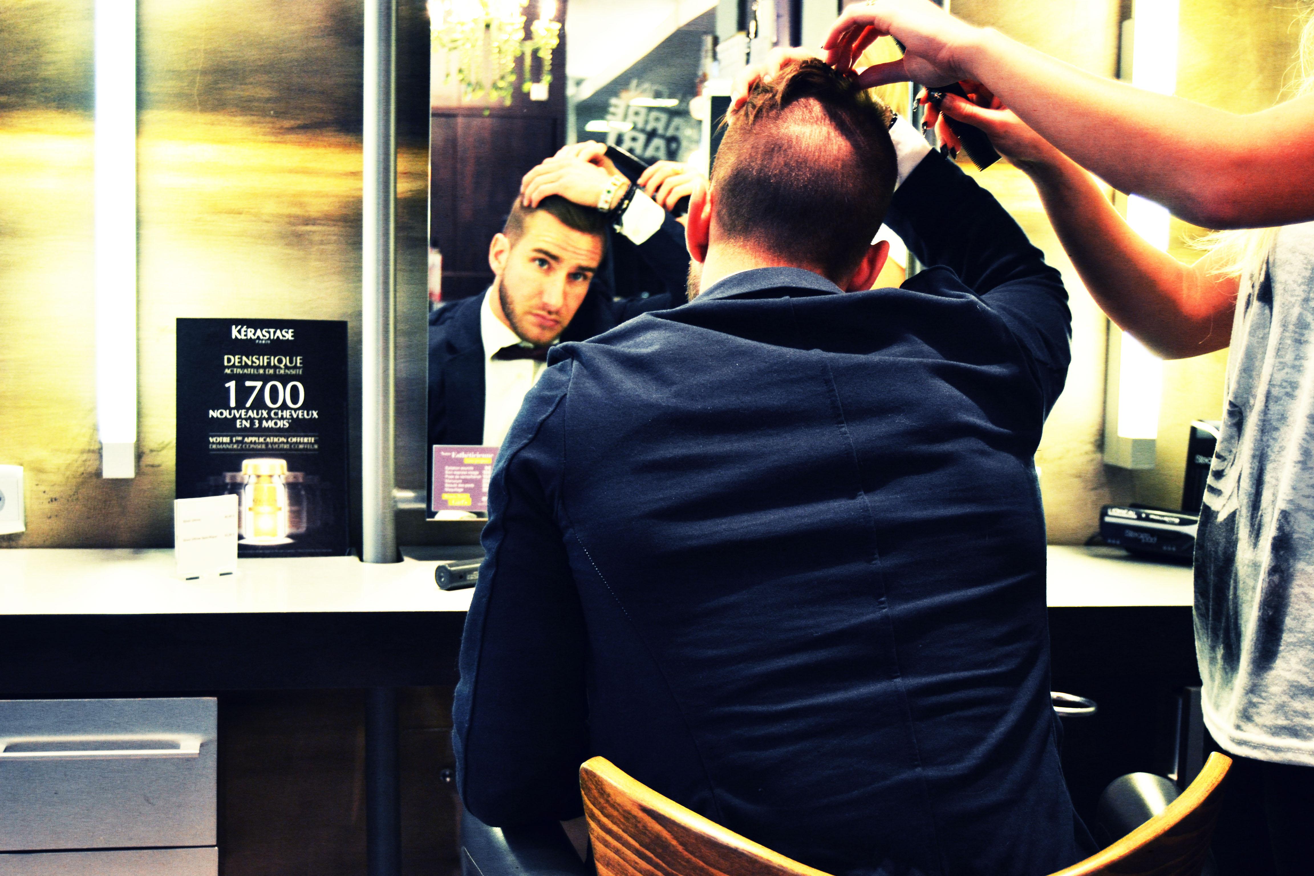 Kevin coiffeur visagiste reims salon carr d 39 art for Salon o coiffure reims