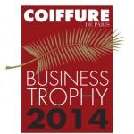 Carre d'art élu meilleur coiffeur business trophy 2014