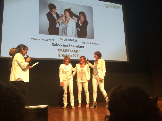 business trophy 2014 carré d'art avec les Managers
