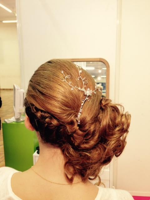 Chignon carr d art salon mariage coiffeur visagiste for Salon o coiffure reims