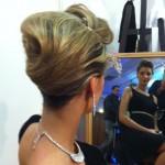 chignon salon mariage