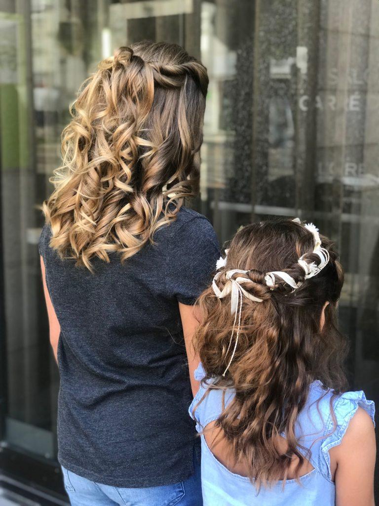 look bar pour filles d'honneur by Audrey et Laetitia